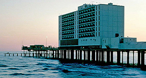 Galveston's Flagship Hotel in 1980.