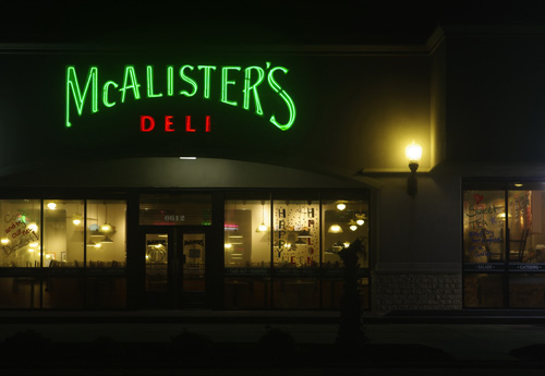 McAllister's Deli, October 24,2010