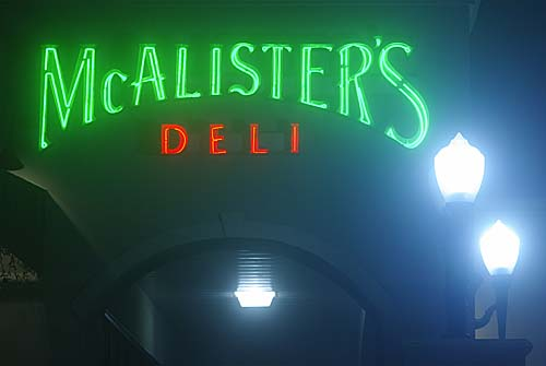 McAllister's Deli in Galveston