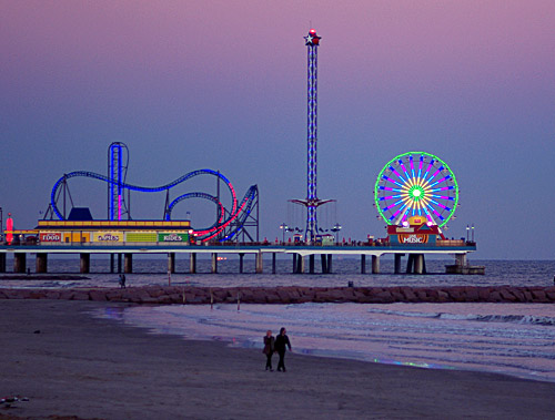 The Galveston Pleasure Pier