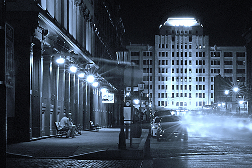 The Strand at Night