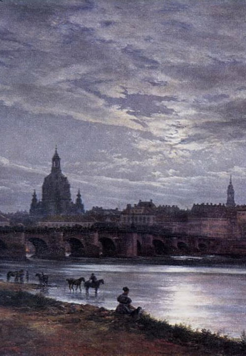Dahl: Dresden by Moonlight